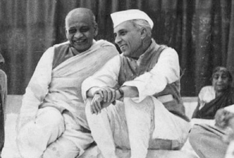 'The crowds come for Jawahar, not me': had said Sardar Patel