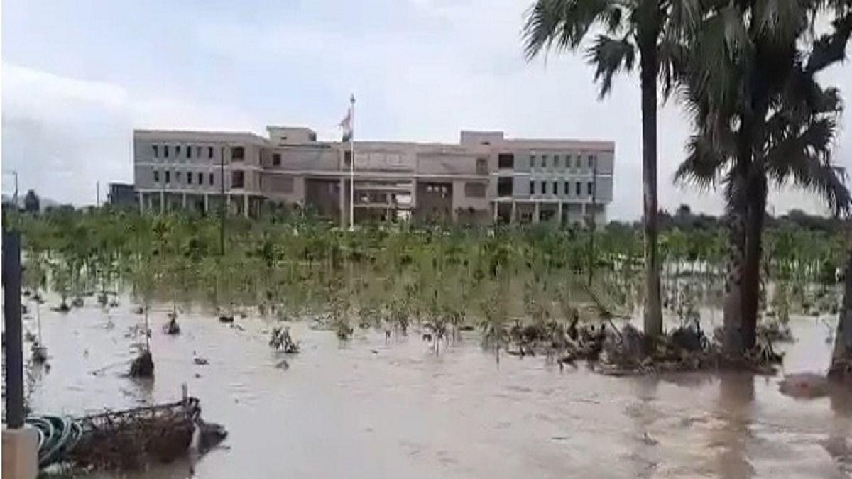 Telangana rains: Man washed away in overflowing stream