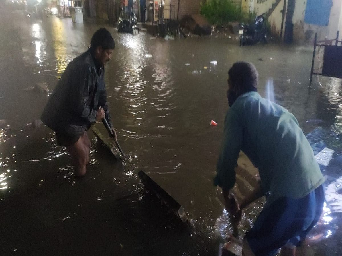 LIVE News Updates: Man feared washed away as heavy rains pound Hyderabad