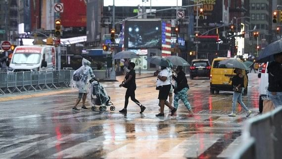 NY Guv declares state of emergency over Hurricane Ida