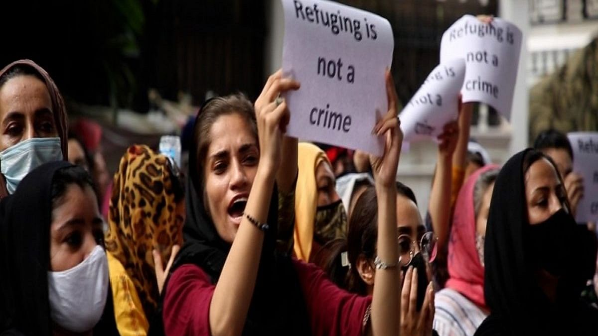 Afghan protestors outside UNHCR could act as super spreader of COVID-19, says Delhi HC