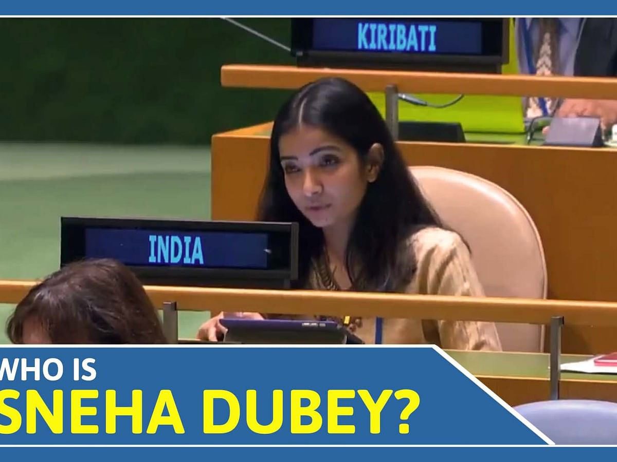 Who is Sneha Dubey? IFS officer Sneha Dubey wins everybody's heart with her reply to Pak PM