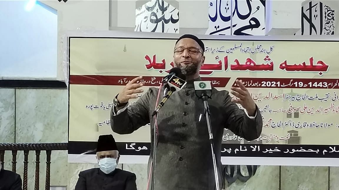 Owaisi booked for hate speech in UP