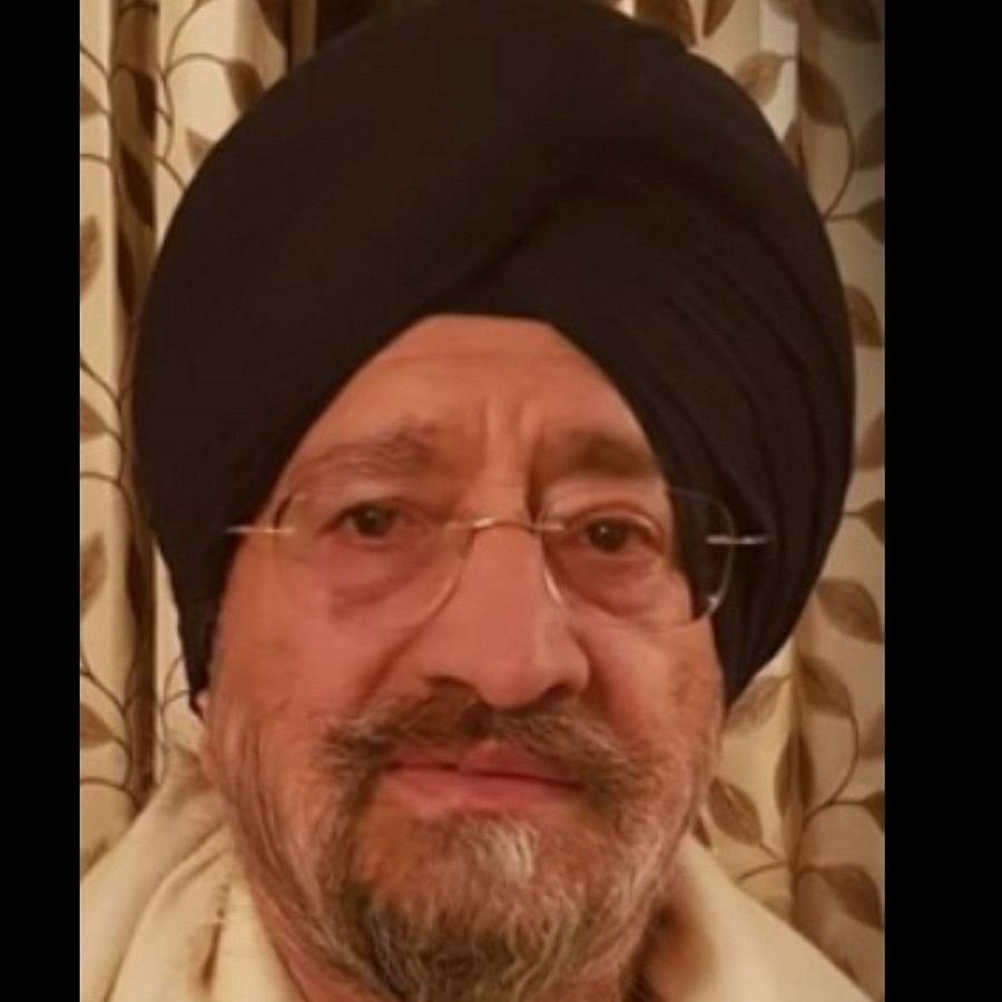 Trilochan Singh Wazir (Photo Courtesy: IANS)