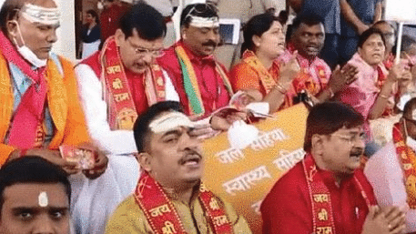 In Jharkhand BJP's 'Jihad' against the 'Namaz Room' in Assembly was uncalled for
