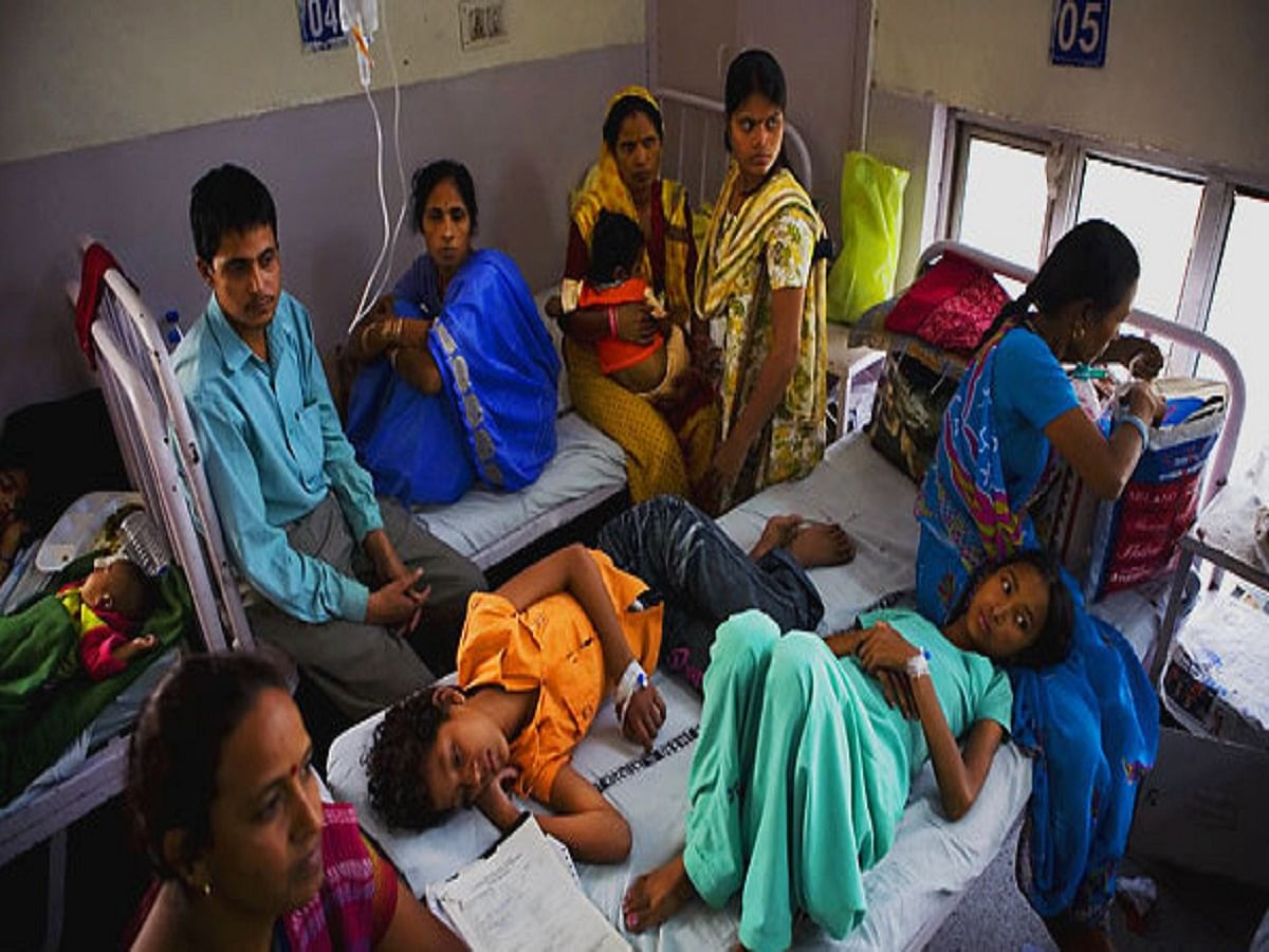 WHO report exposes Modi government's bluff on healthcare, with even poorer nations performing much better