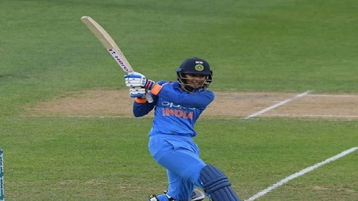 India women's team cricketer Smriti Mandhana  (Photo Courtesy: IANS)