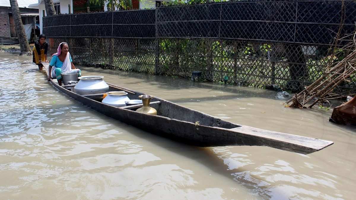 Assam flood situation worsens further, two more killed