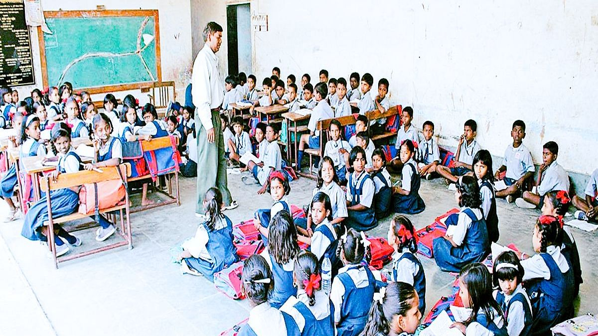 BJP govt's move to merge schools in MP will shut down 90 % state-run schools, render one lakh teachers jobless