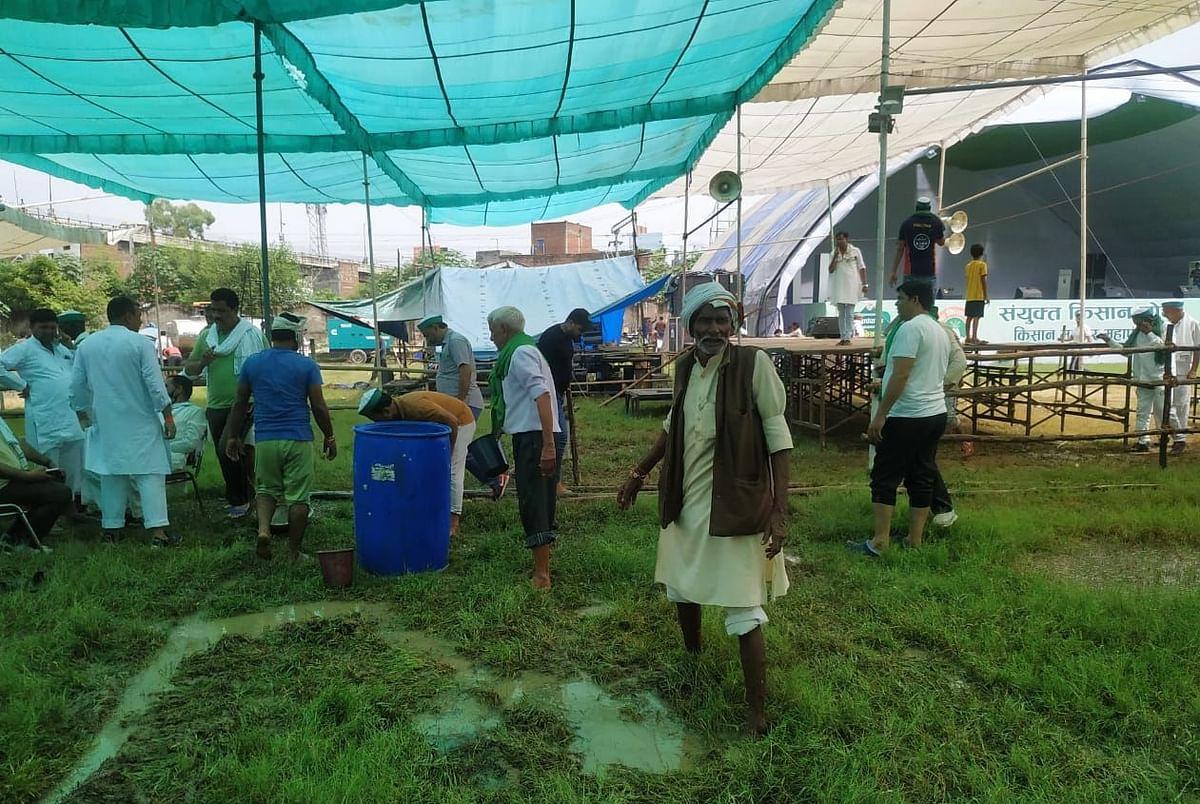 Farmers in Muzaffarnagar all geared up for Kisan Mahapanchayat tomorrow