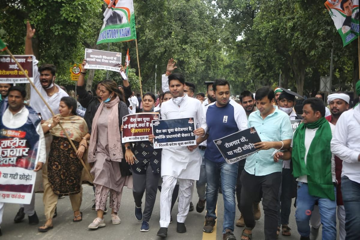 """LIVE News Updates: Indian Youth Congress celebrates PM Modi's birthday as """"National Unemployment Day"""""""