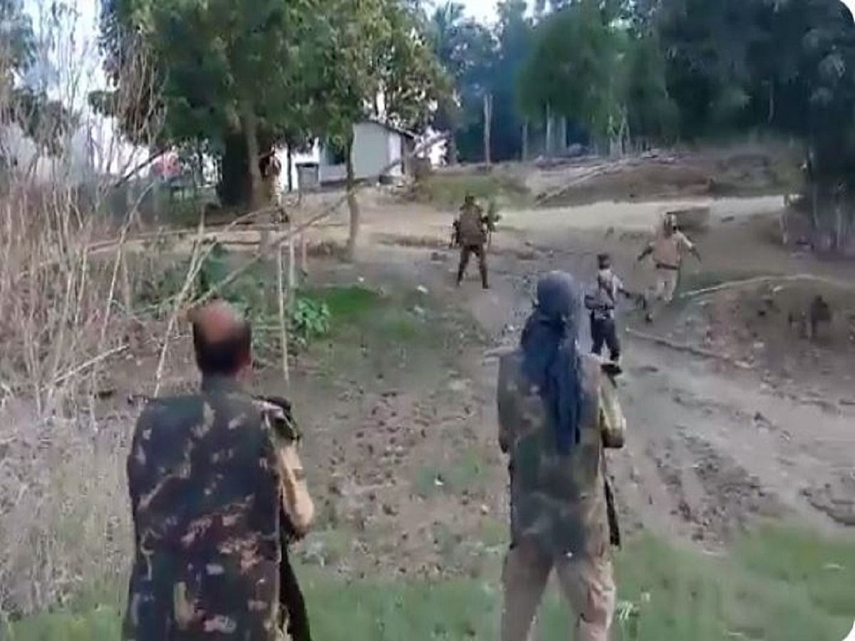 WATCH VIDEO: Brutal crackdown on locals by Assam police during 'anti-encroachment drive'