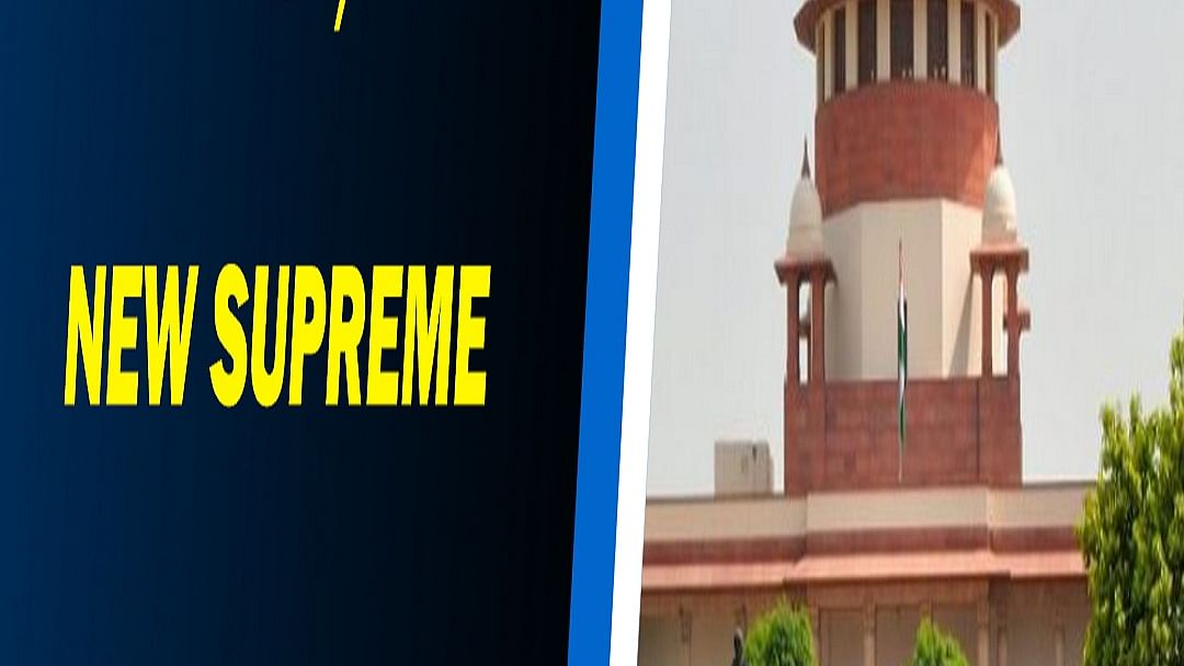 In a first, nine new Supreme Court judges take oath