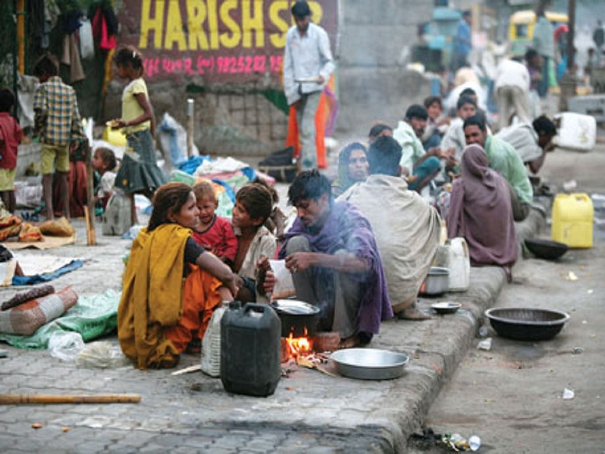 Survey findings that crores of households in India live under utter penury expose Modi govt's progress claims