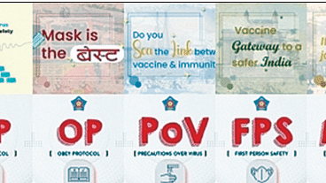 The puns Mumbai police have been using to spread awareness about vaccines