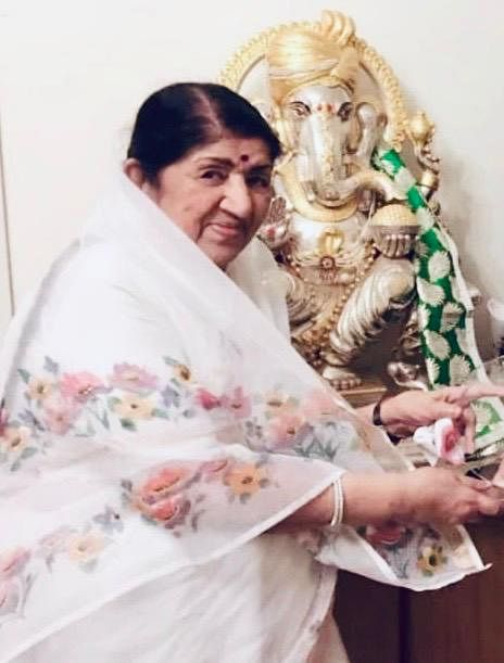 """Lata Mangeshkar: """"Let's accept it, Ganesh Chaturthi is not the same anymore"""""""