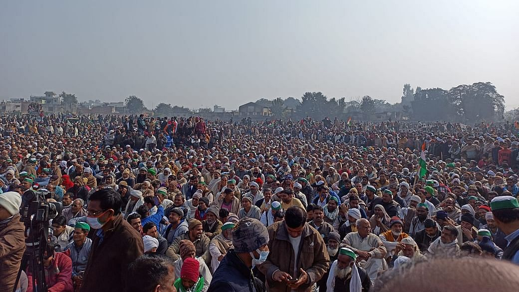 Muzaffarnagar rally called out divisive politics of RSS-BJP, marked scaling up of movement against Modi govt