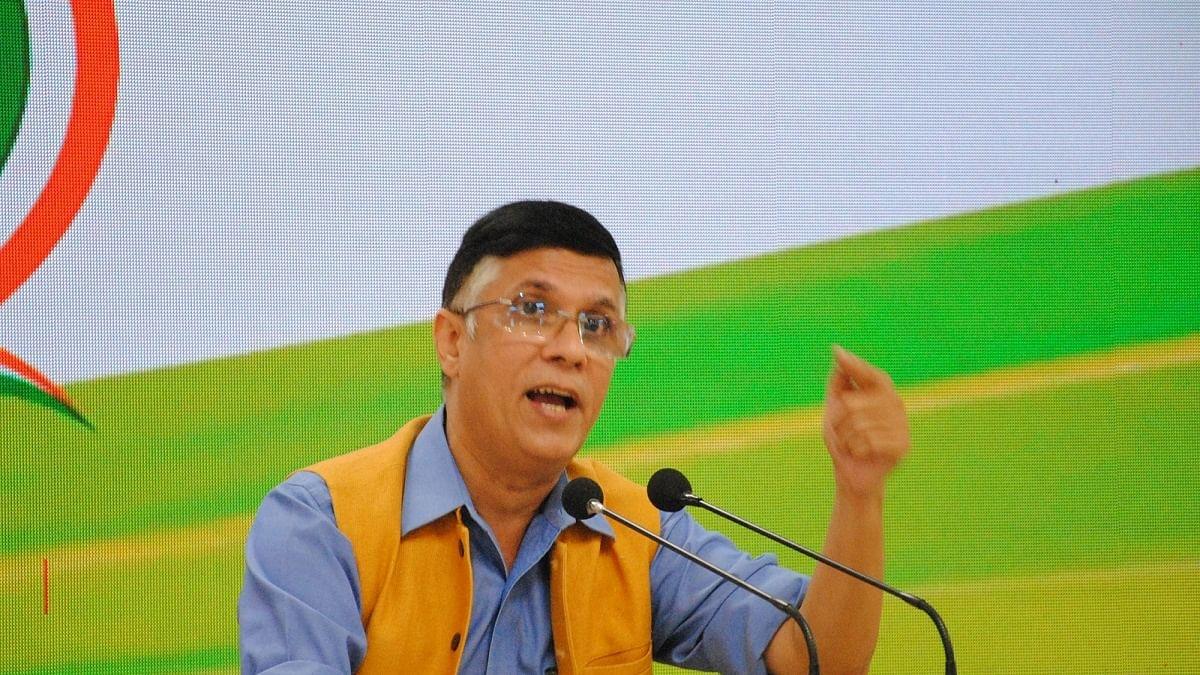 Congress spokesperson Pawan Khera (Photo Courtesy: IANS)