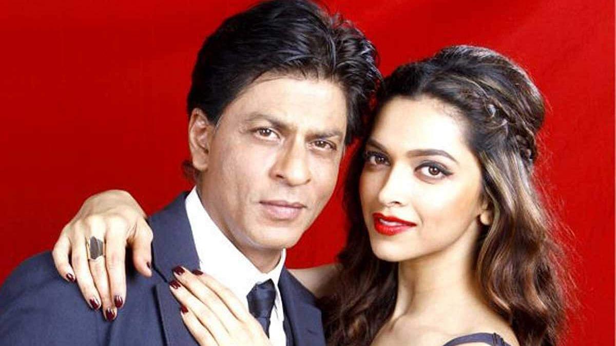 SRK and Deepika Padukone