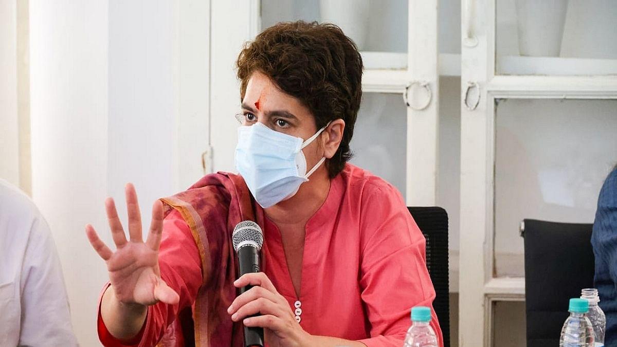 Paddy procurement not being done on MSP in UP: Priyanka Gandhi