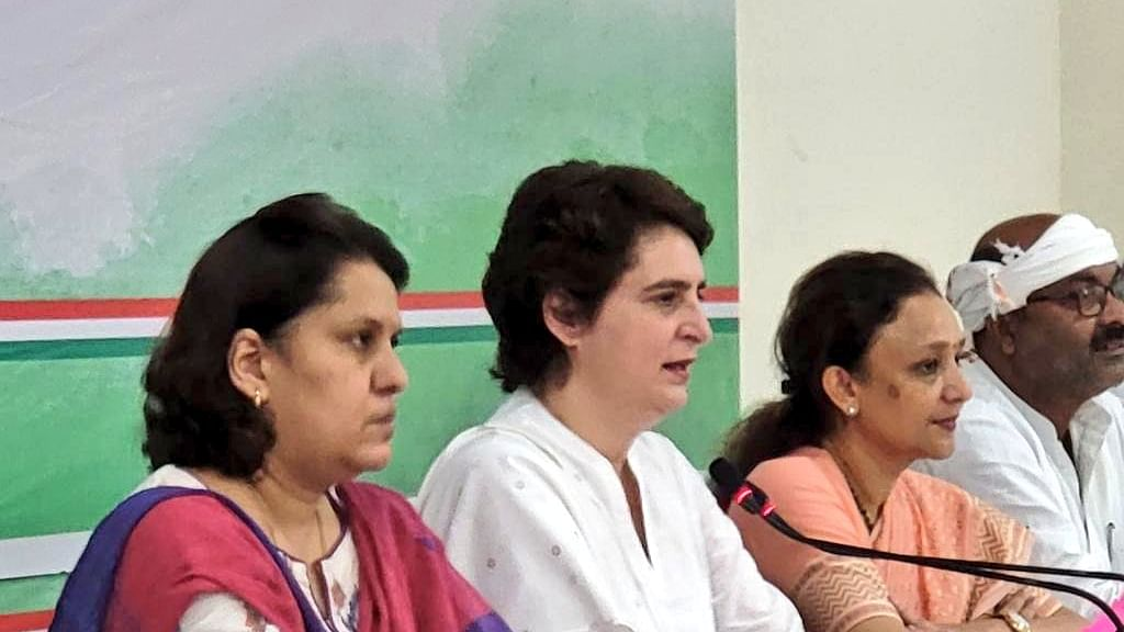 Congress to give 40% of tickets to women in UP assembly polls: Priyanka Gandhi