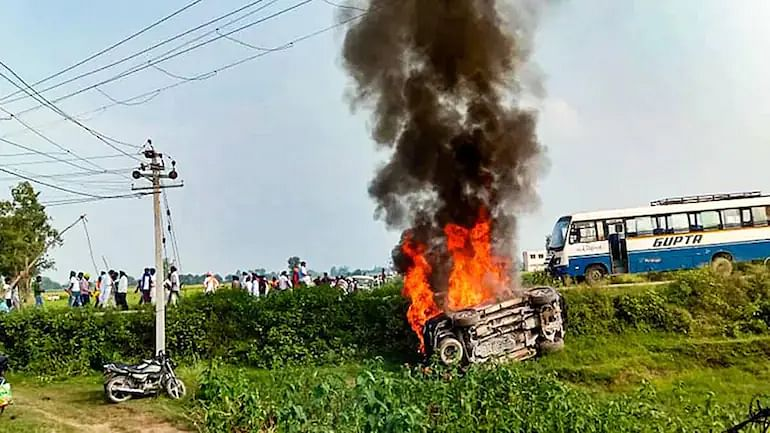 BJP worker among 4 nabbed over Lakhimpur Kheri violence, minister's son sent to judicial custody