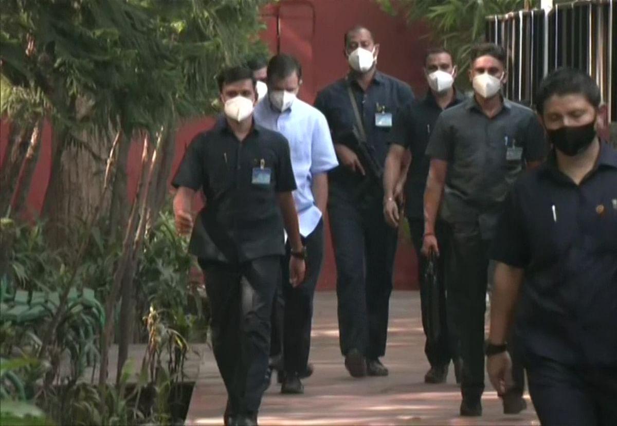 LIVE News: Congress leaders Rahul Gandhi and Navjot Singh Sidhu arrive at AICC headquarters