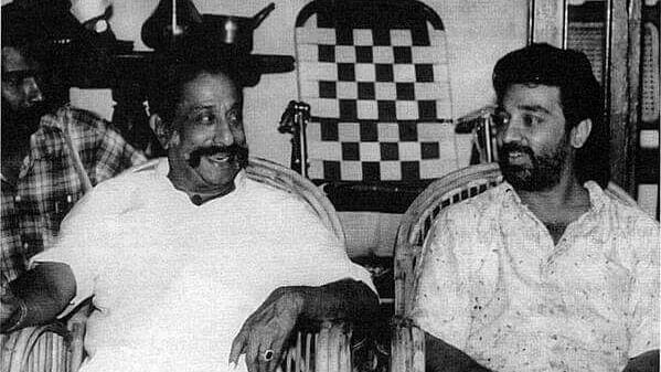 Kamal Haasan and Sivaji Ganesan