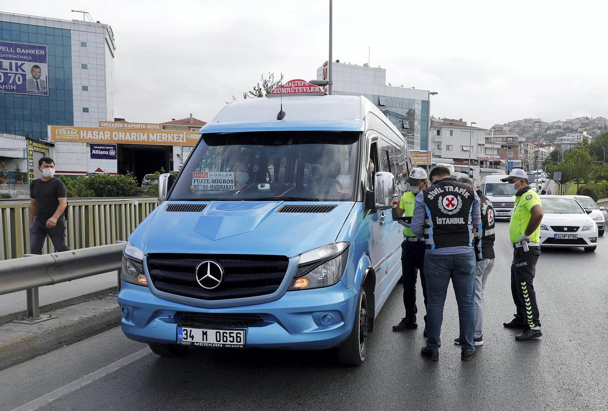 Turkey detains 6 IS suspects in Black Sea region