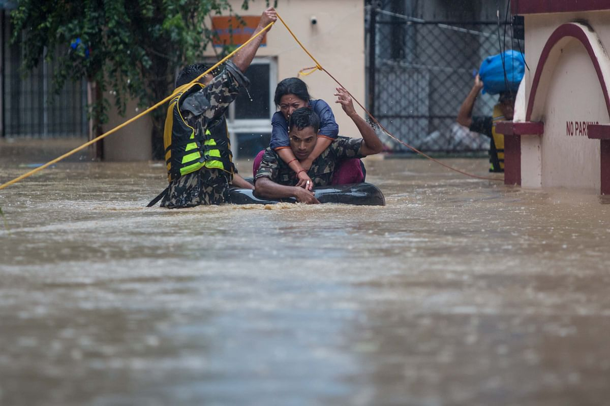 Death toll from Nepal floods, landslides reaches 101