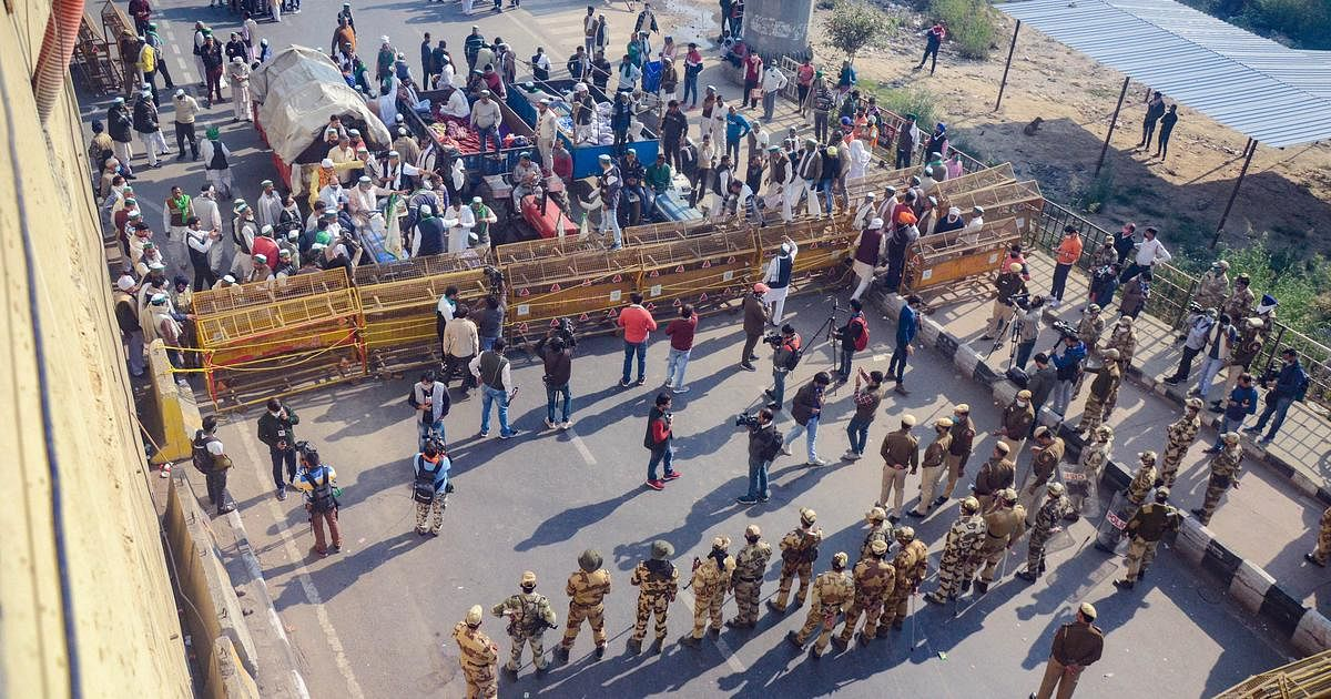 LIVE News Updates: Farmers to reopen service lane below NH-24 near Ghazipur border