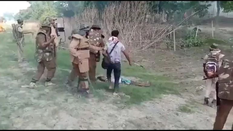 A person killed in police firing during an eviction drive in Darrang, Assam last month