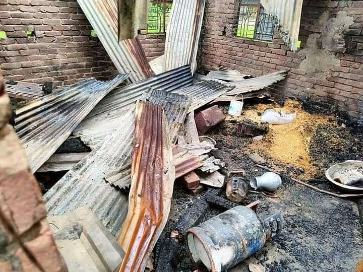 Arsonists vandalise 66 houses, torch 20 homes of Hindus in Bangladesh amidst protests over Durga Puja violence