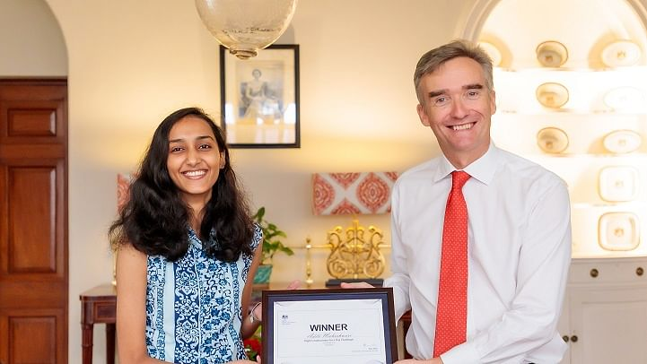 Rajasthan woman spends day as British envoy