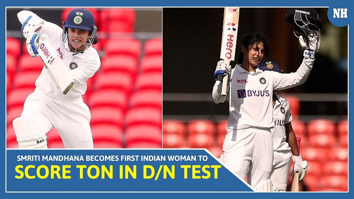 Smriti Mandhana becomes first Indian woman to score ton in D/N Test