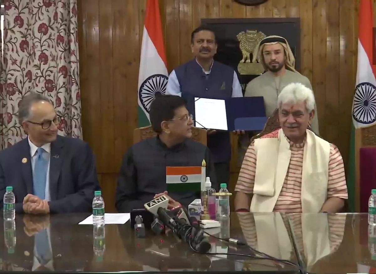 LIVE News Updates: J&K signs MoU with Dubai for real estate development