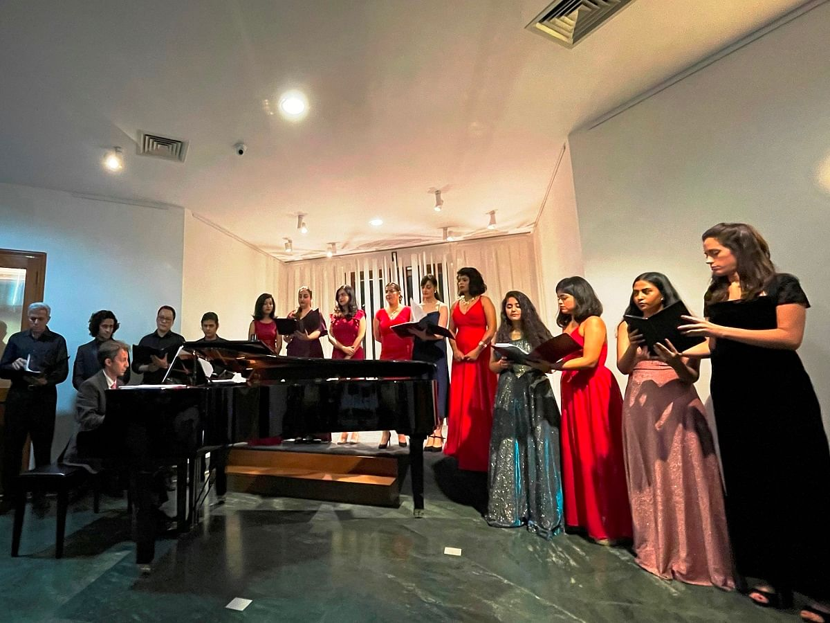 Italian Embassy Cultural Centre hosts Opera concert on 50th anniversary together with Neemrana Foundation