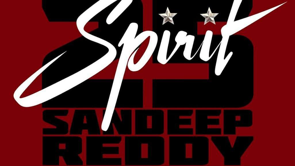 Prabhas joins hands with Bhushan Kumar & Sandeep Reddy Vanga for his 25th film 'Spirit'