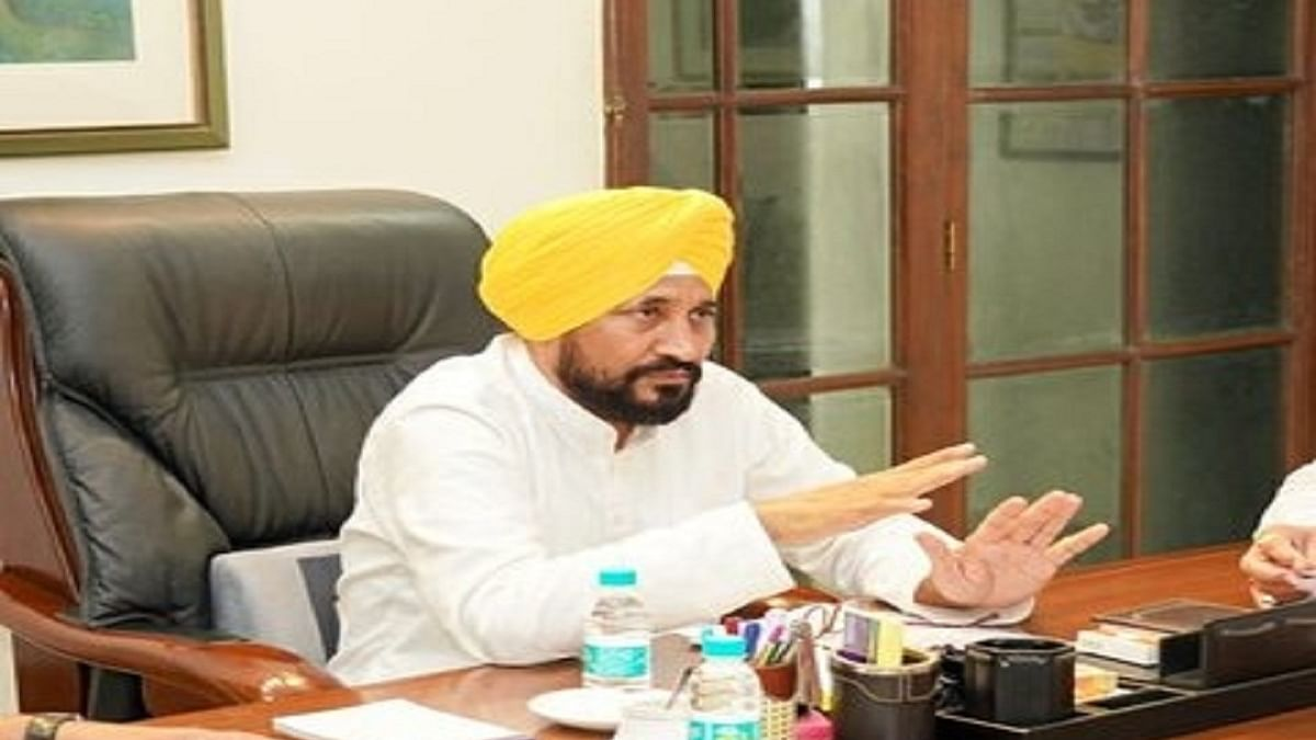 Punjab Chief Minister Charanjit Singh Channi  (Photo Courtesy: IANS)
