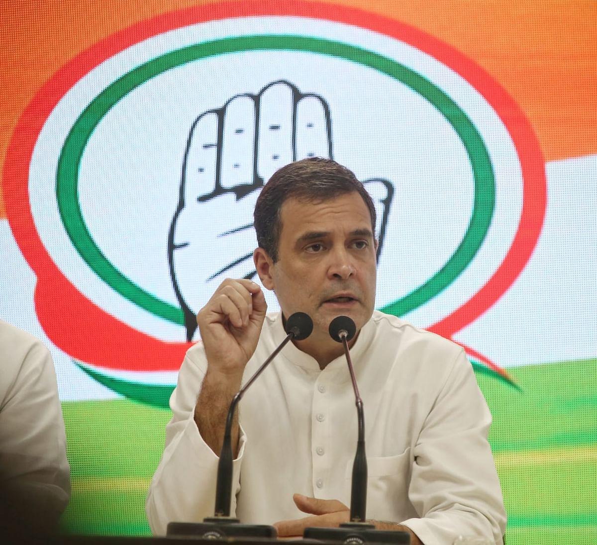 No democracy but dictatorship in UP, says Rahul Gandhi before leaving for Lakhimpur Kheri