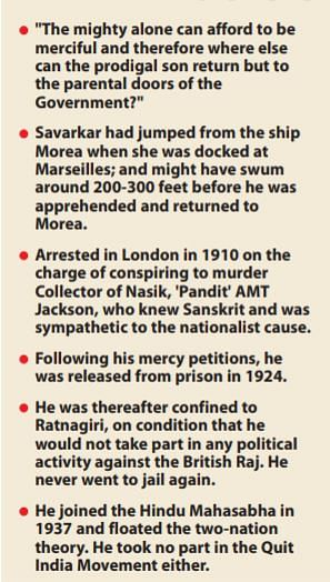 Why Savarkar cannot have a place among freedom fighters and why ICHR must take him down