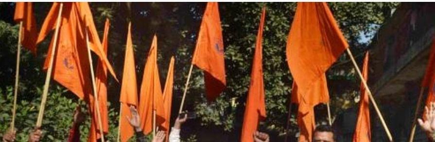 FIR against Bajrang Dal leader, 100 pro-Hindu activists for abusing cops in K'taka