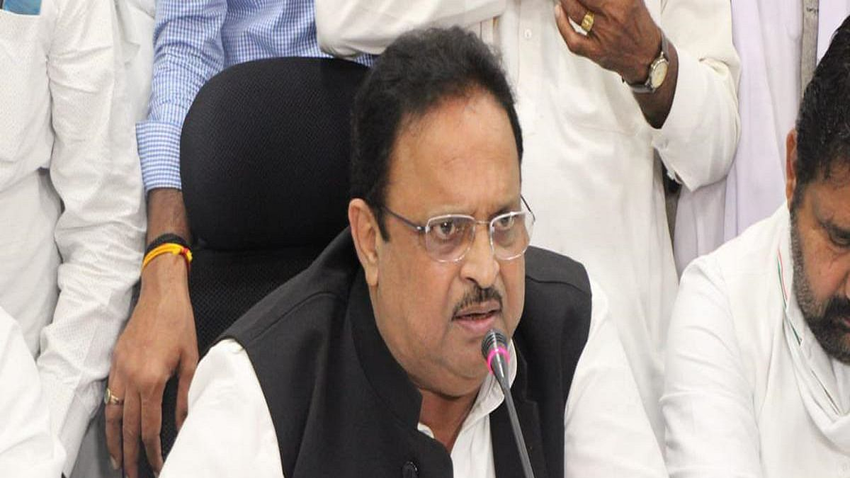 Rajasthan health minister Raghu Sharma, made AICC in-charge of Gujarat, to oversee Dadra & Nagar Haveli bypoll