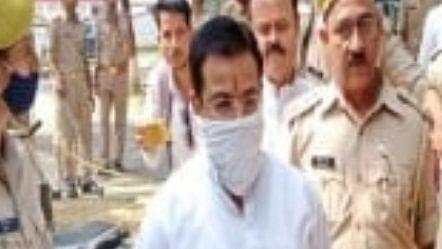 Ashish Mishra appears before police in Lakhimpur Kheri violence case