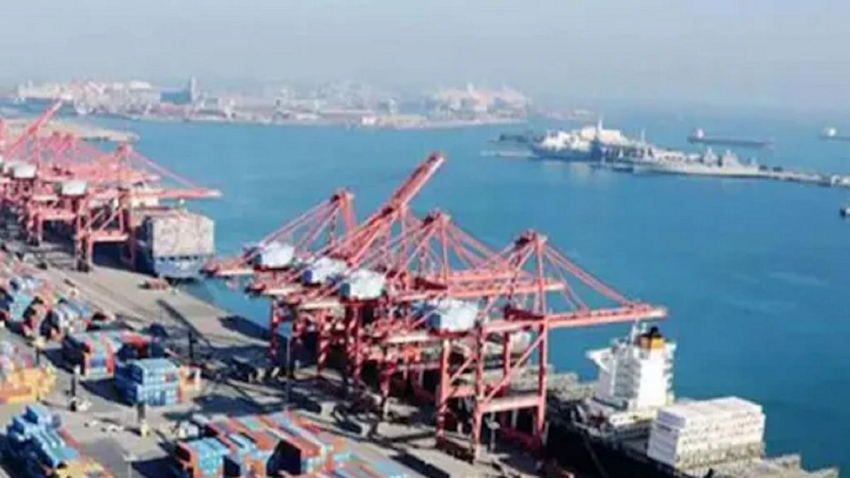 Mundra Port (Representative Image) (Photo Courtesy: PTI)