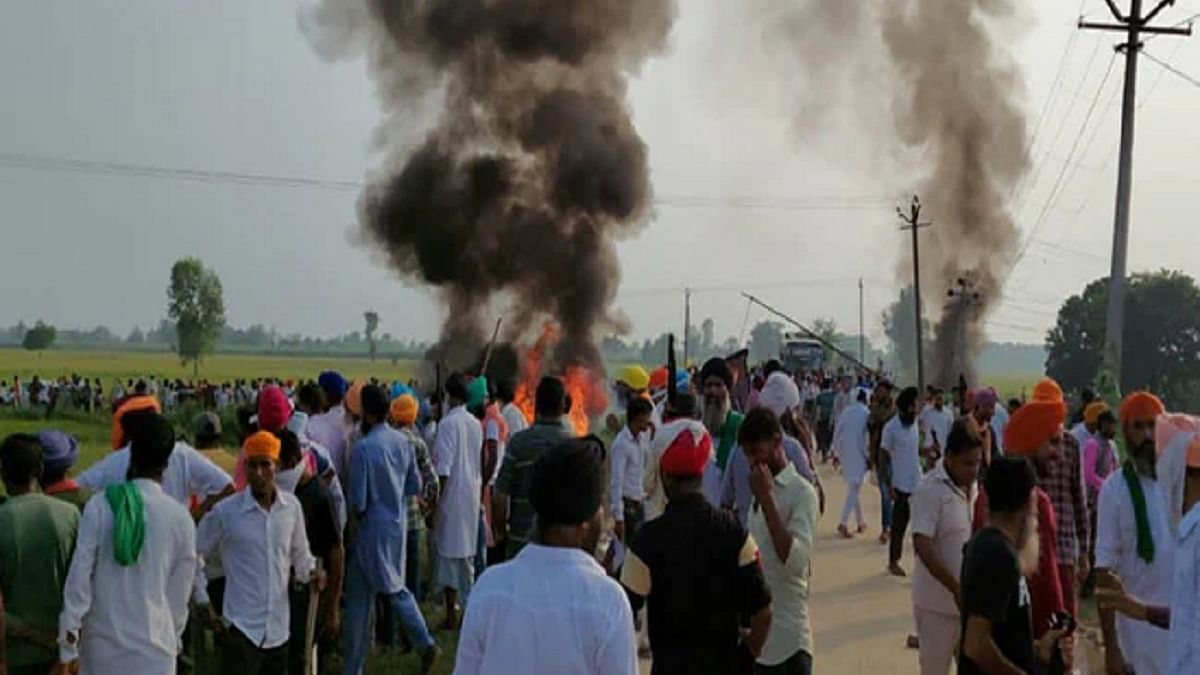 Violence unleashed on farmers in Lakhimpur Kheri an act of desperation by BJP; won't cow down their struggle