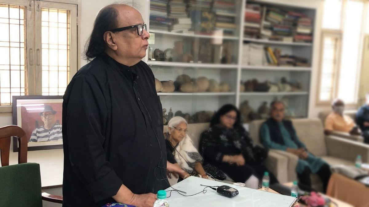 Veteran art critic Vinod Bhardwaj