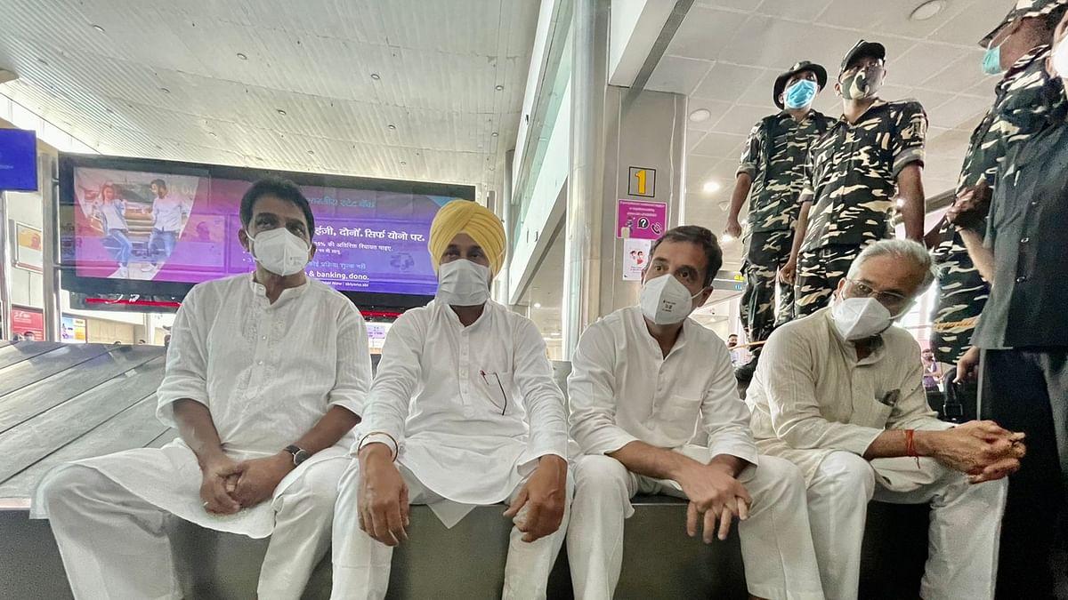 Lakhimpur Kheri violence: Nervous BJP trying to blunt Rahul Gandhi's effort to reach out to farmers' kin