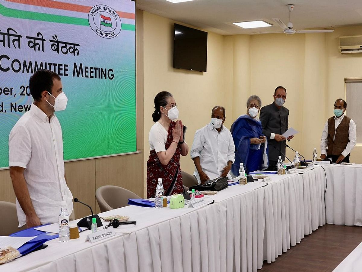 No need to speak to me through media; schedule for organisational polls ready, says Sonia Gandhi at CWC