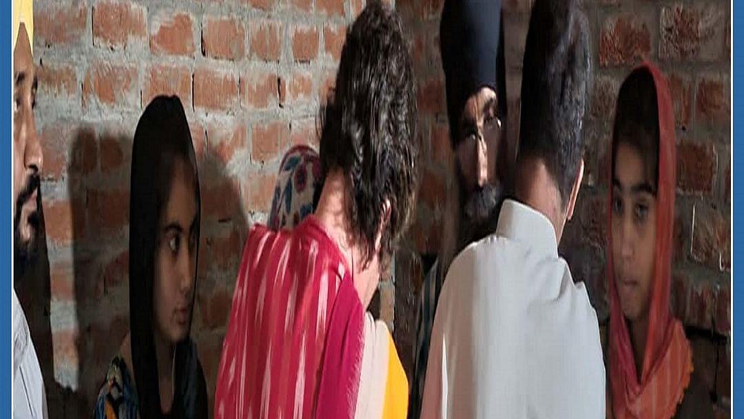 Rahul, Priyanka meet kin of Lakhimpur victims, here's what happened
